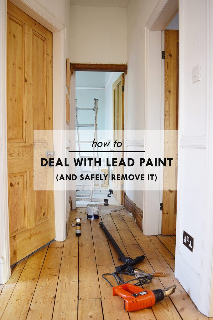 How To Deal With Lead Paint and Safely Remove It