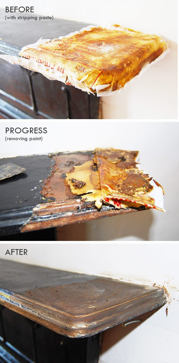 The Best Way To Strip Paint