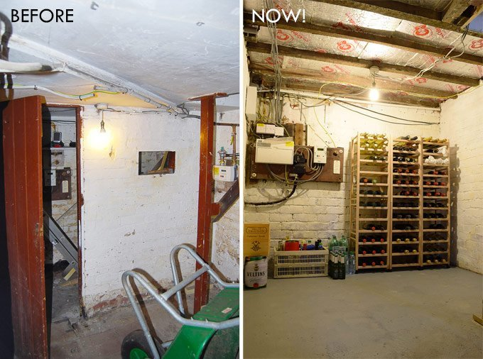 Before and After Cellar