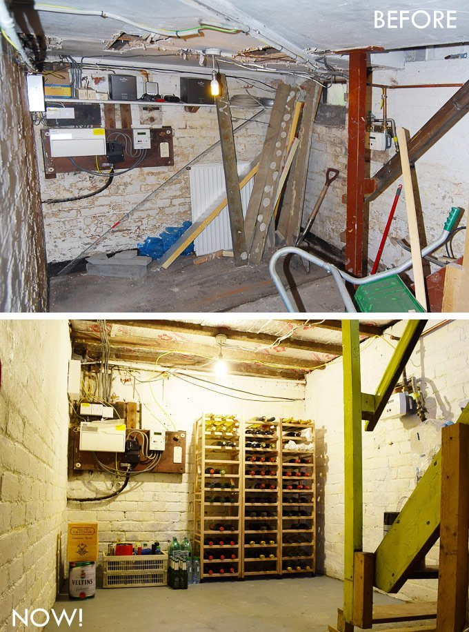 Cellar Before & After