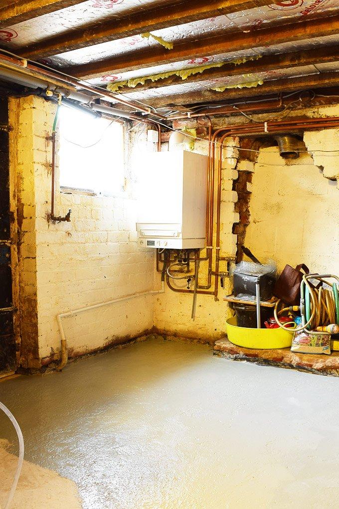 Cellar Floor Painting
