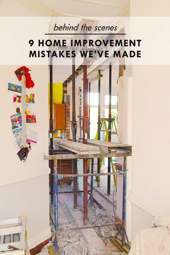 9 Home Improvement Mistakes We've Made (So You Don't Have To)