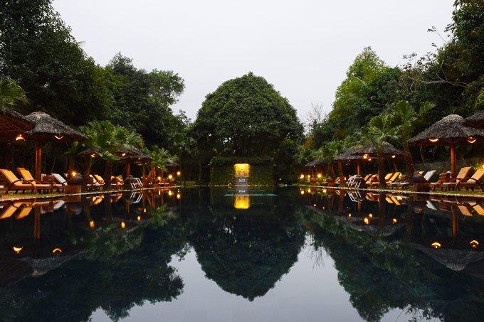 Pool at Hotel In Hue