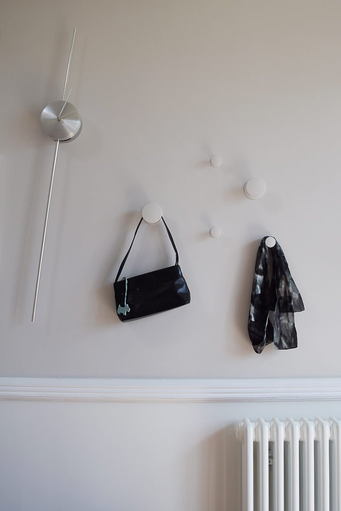 Magnetic Plaster with Magnetic Coat Hooks