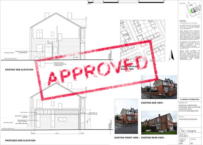 Planning Permission For Side Extension