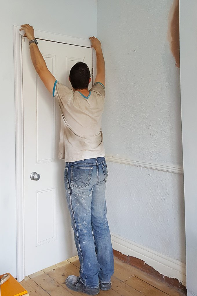 Adding an architrave