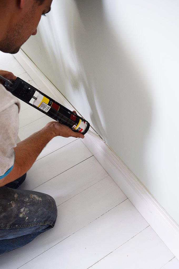 How To Attach A Skirting Board