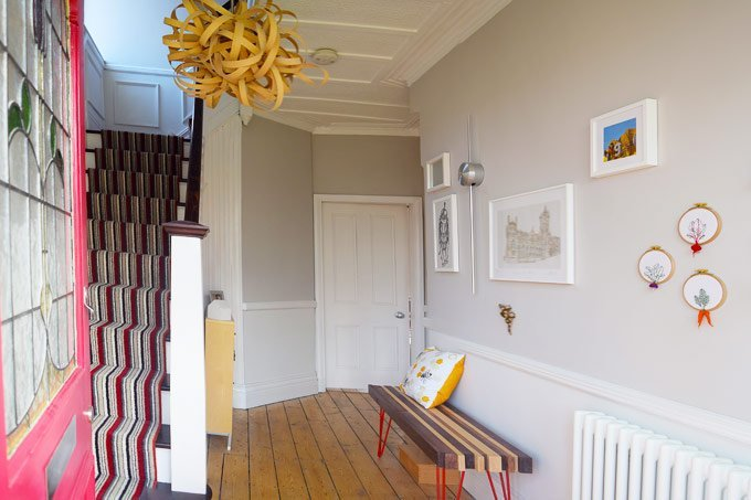 Hallway - Magnetic Plaster -Cornforth White