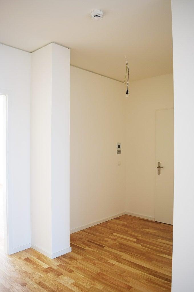 Hallway towards front door