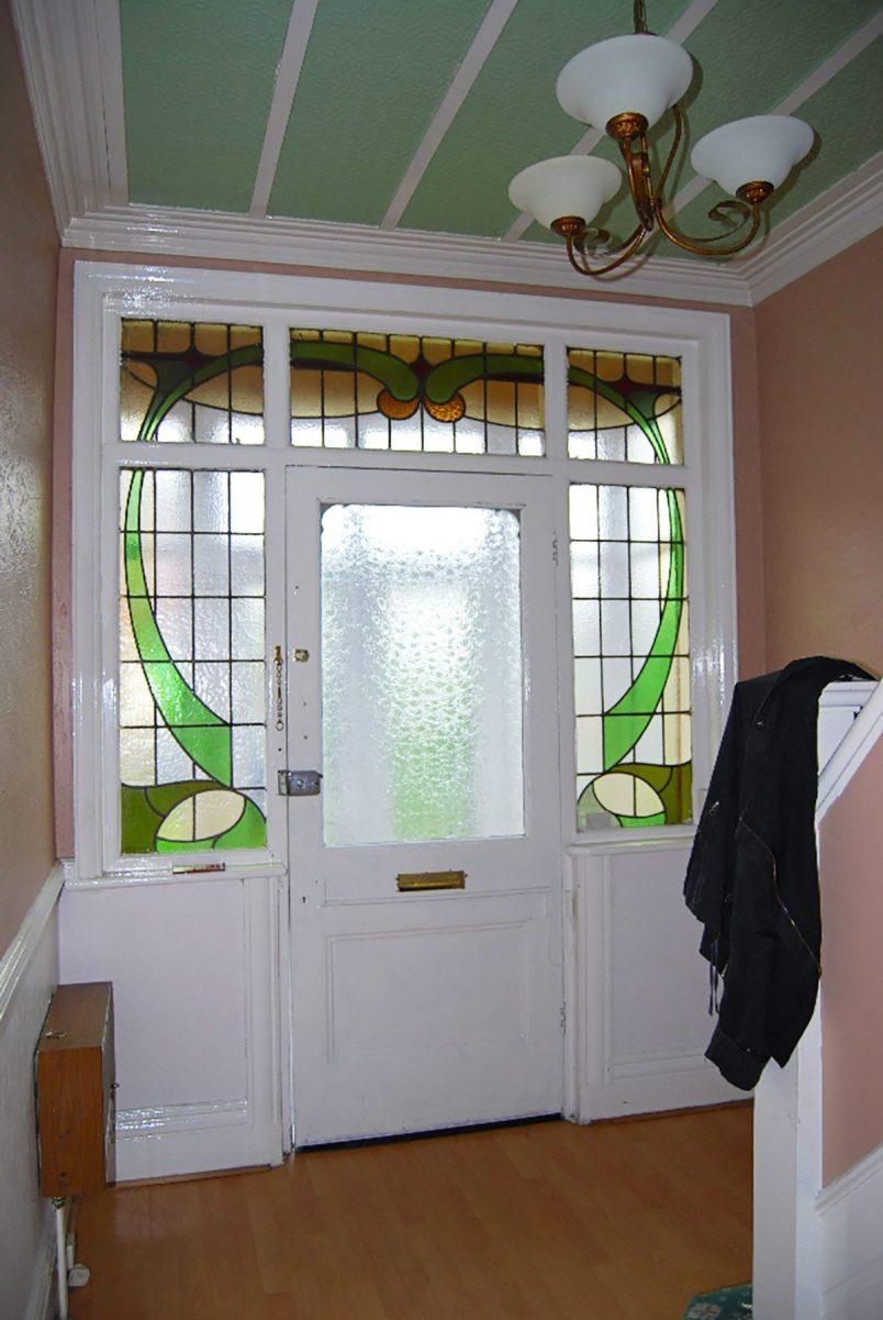 Edwardian Hallway Before | Little House On The Corner