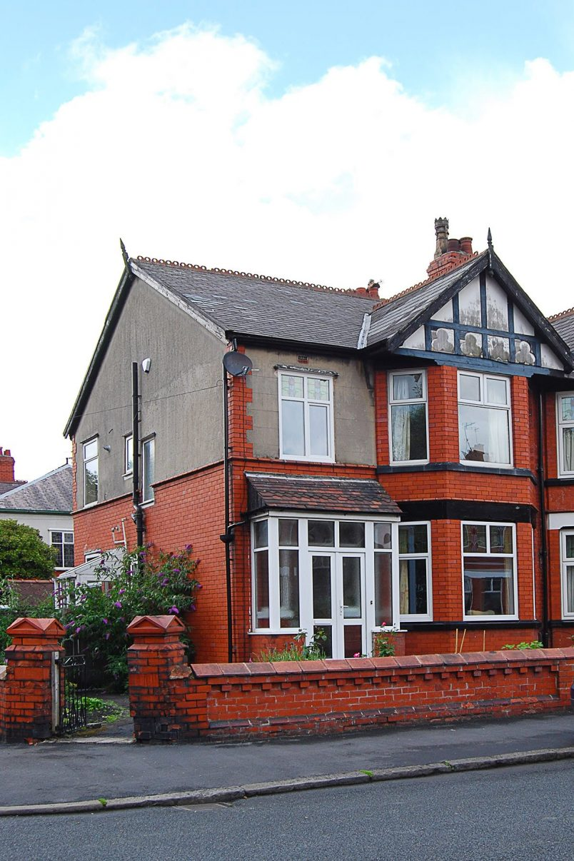 Edwardian House Exterior Before | Little House On The Corner