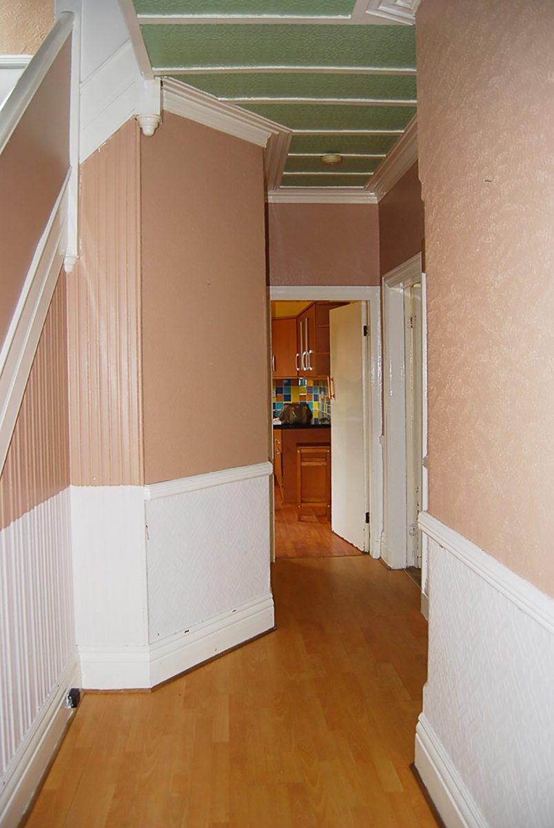 Hallway Before | Little House On The Corner