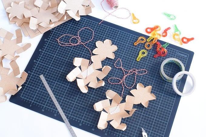 DIY Star Advent Calendar | Little House On The Corner