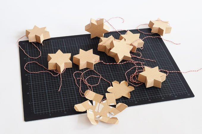 DIY Star Advent Calendar | Little House On The Corner