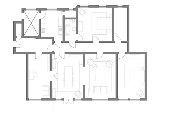Current Home Layout