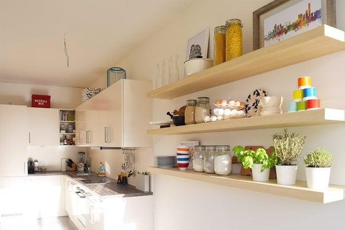 Kitchen Shelves | Little House On The Corner