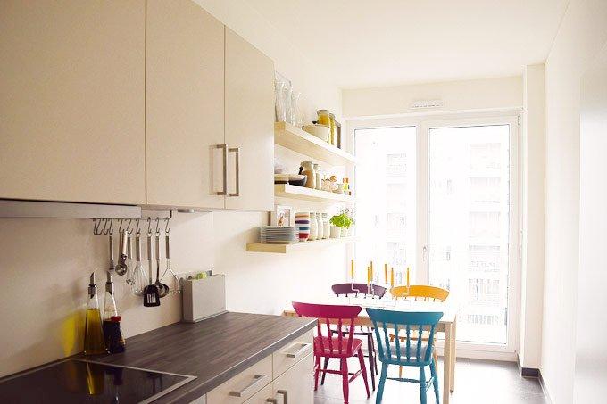 Floating Kitchen Shelves | Little House On The Corner