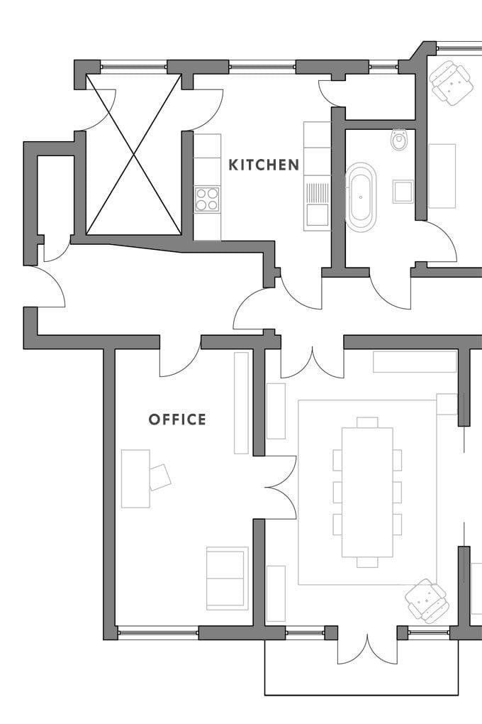 Kitchen - Option 1