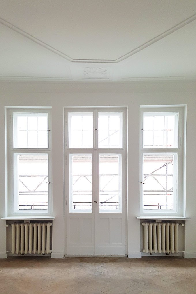 Dining Room Windows | Little House On The Corner