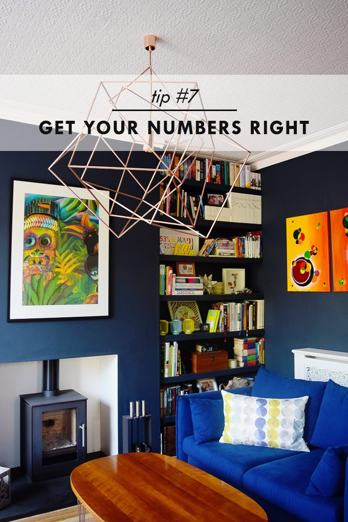 How To Stay Sane When House Hunting - Get Your Numbers Right - Little House On The Corner