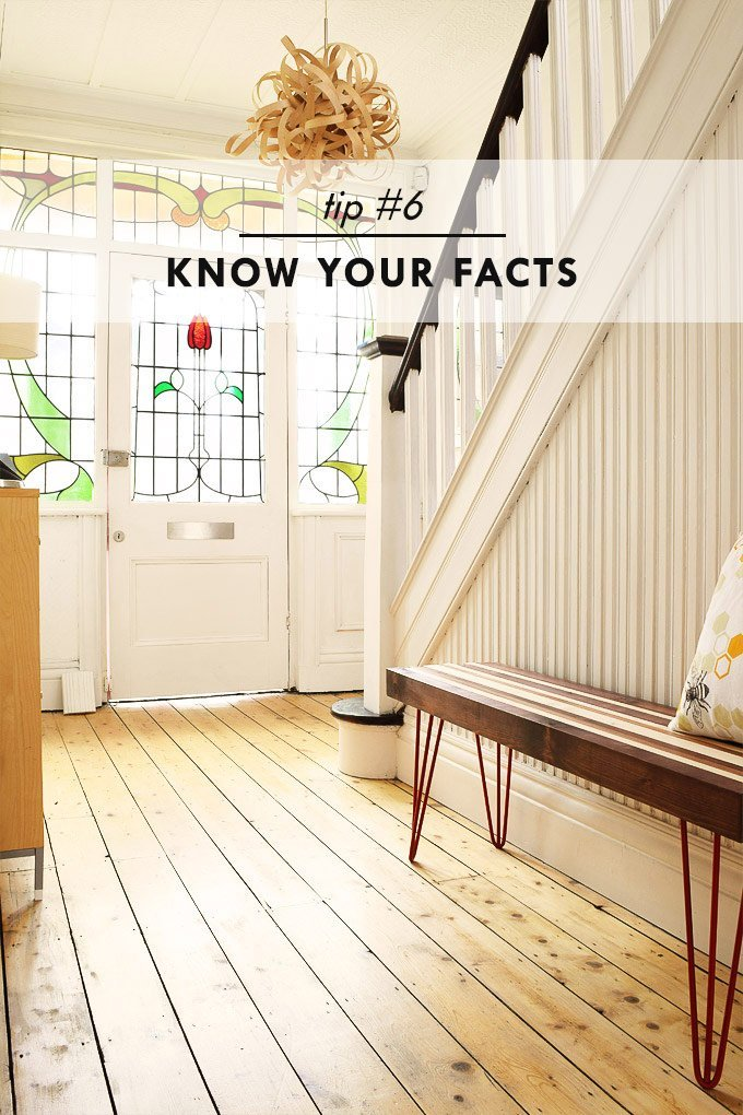 How To Stay Sane When House Hunting - Know Your Facts - Little House On The Corner