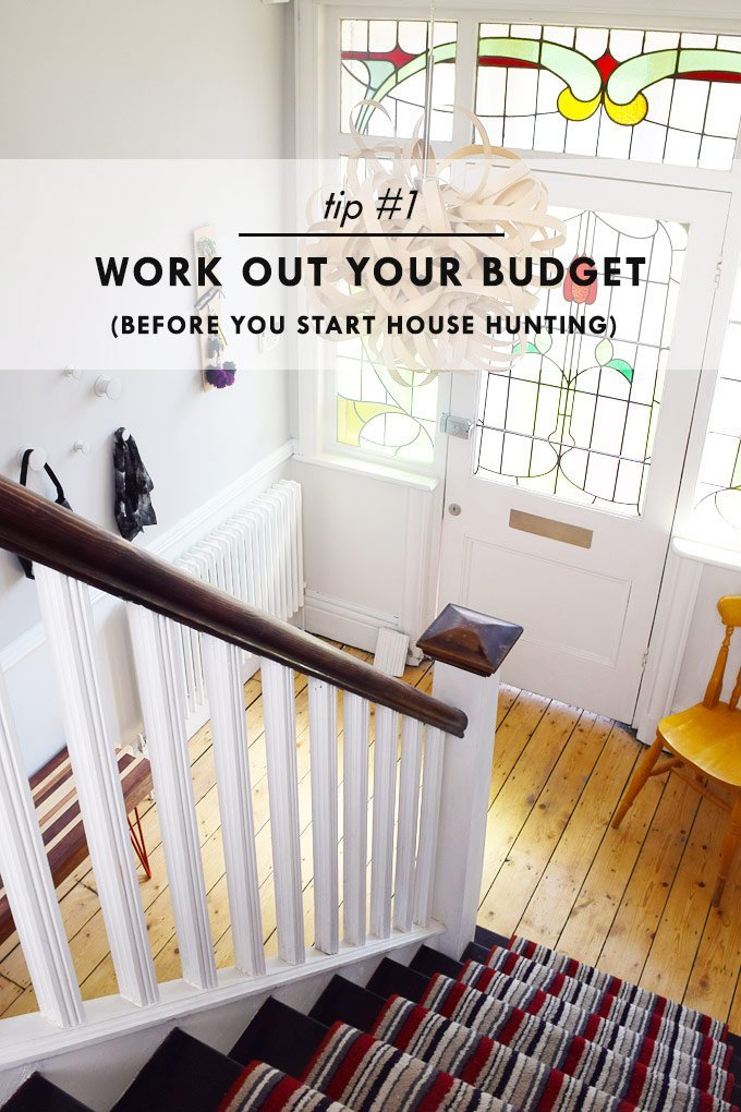 How To Stay Sane When House Hunting - Work Out Your Budget - Little House On The Corner