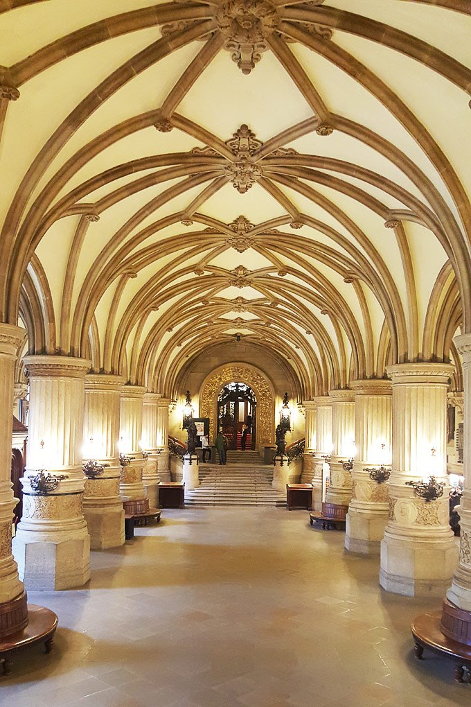 Inside Hamburg Town Hall
