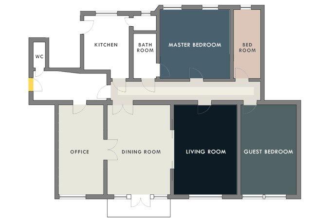 Floorplan Colours