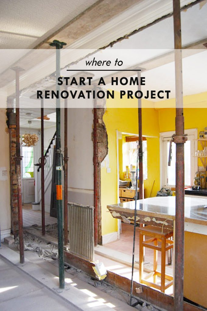 Where To Start A Home Renovation Project - Steps & Information