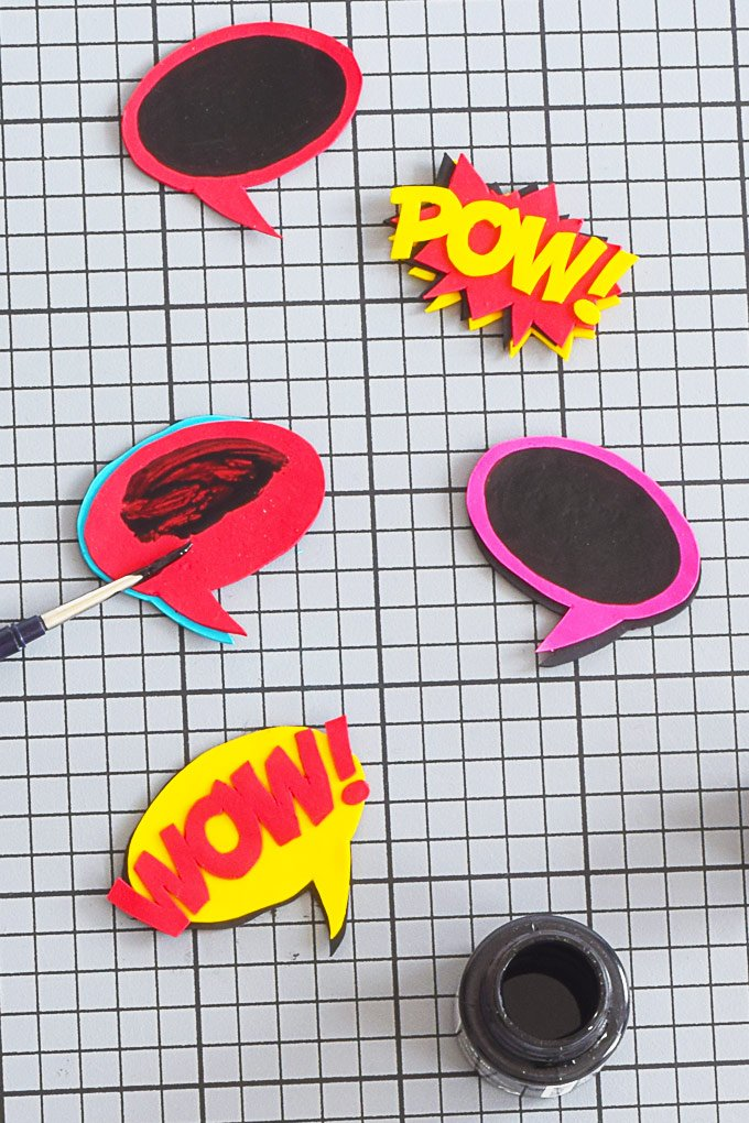 DIY Pop Art Magnets To Personalise