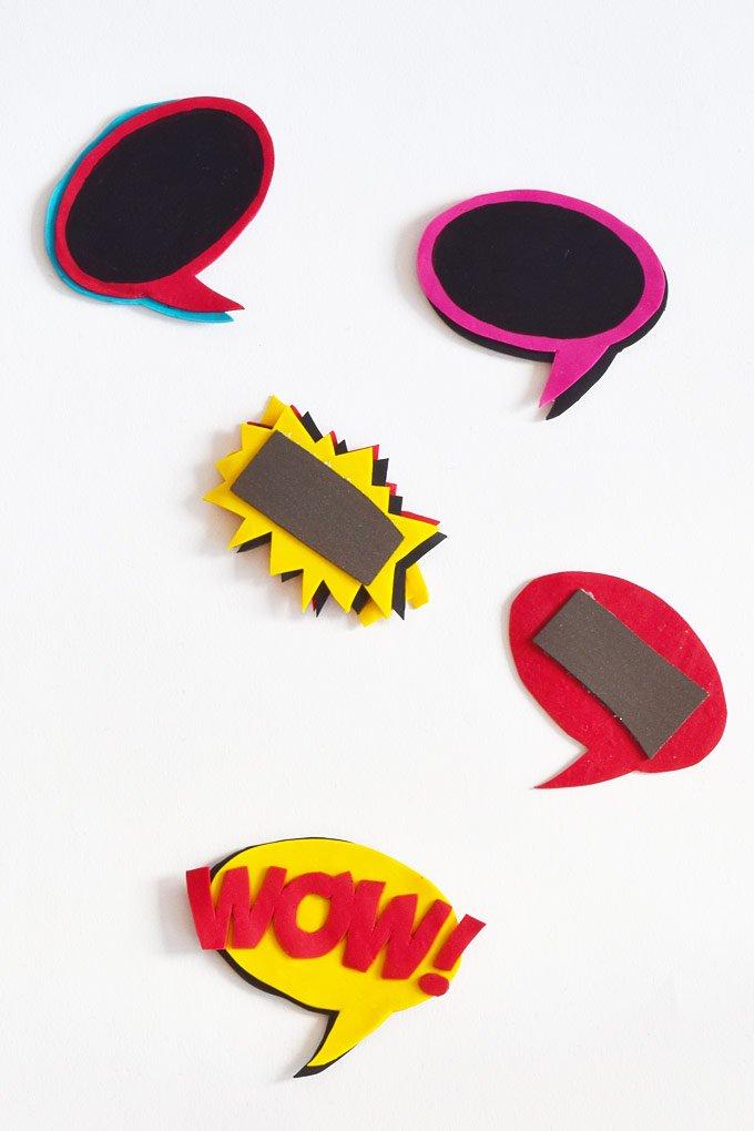 DIY Pop Art Magnets