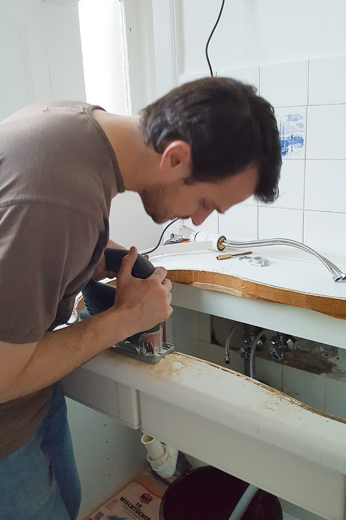 Replacing A Kitchen Sink