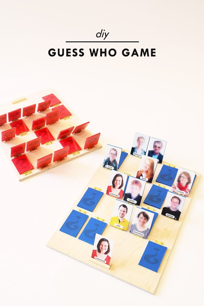 DIY Guess Who Game | Little House On The Corner