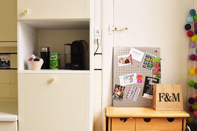Temporary Kitchen Update - Coffee Station