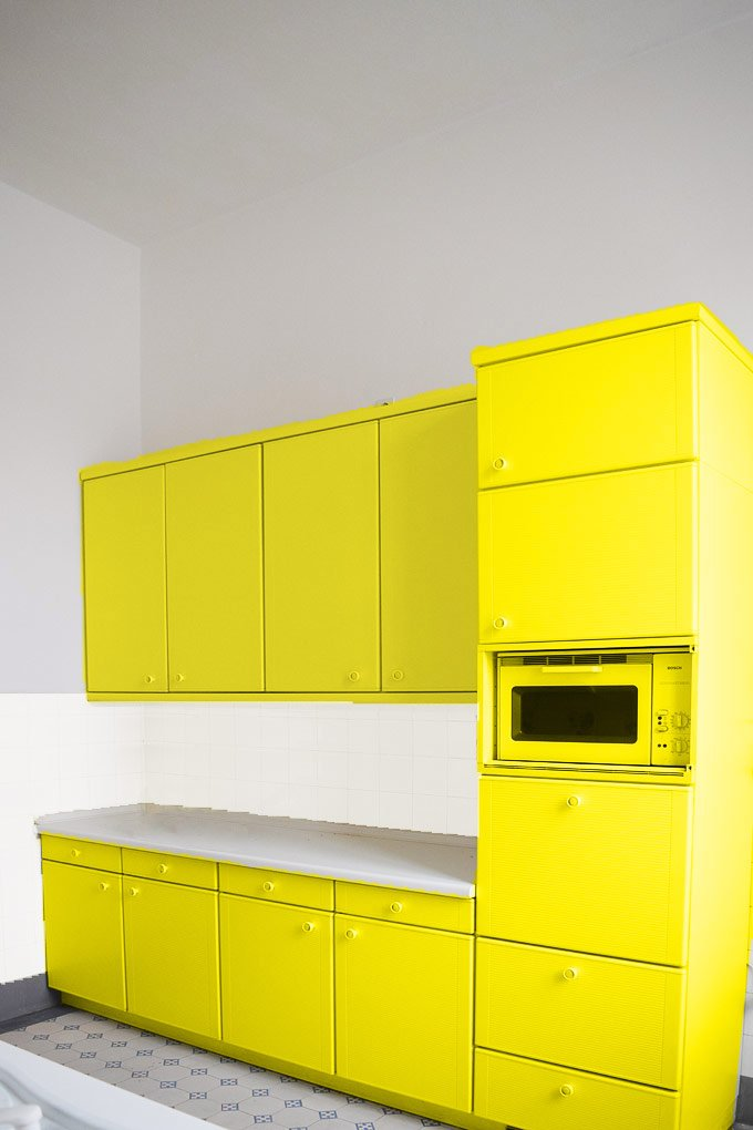 Kitchen Makeover - Option 2 - Colour!