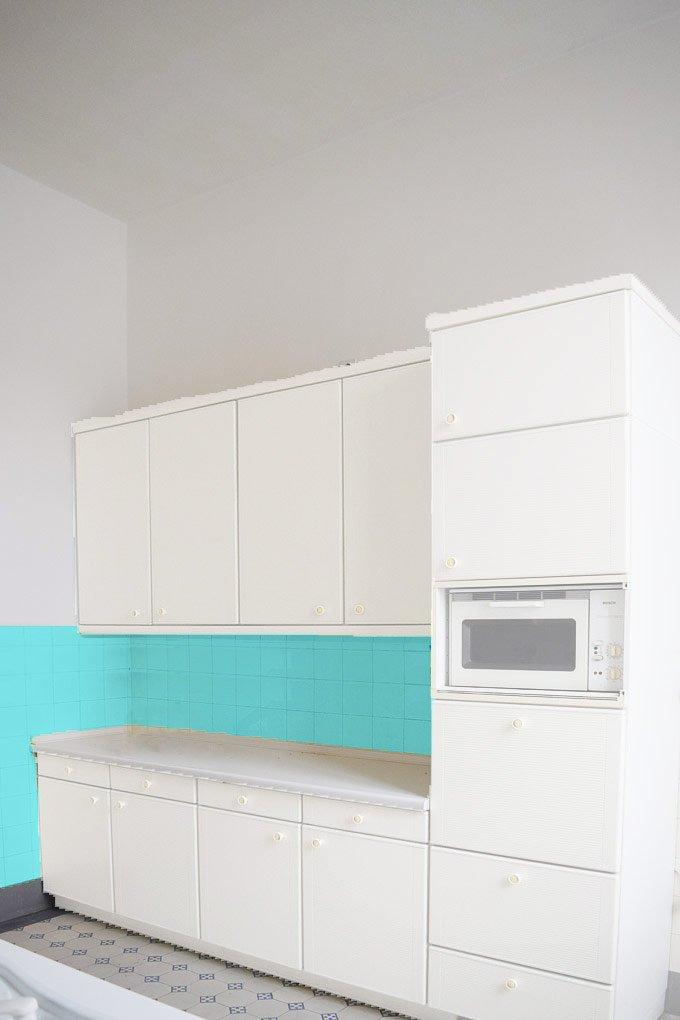 Kitchen Makeover - Option 3 - White - Alternative