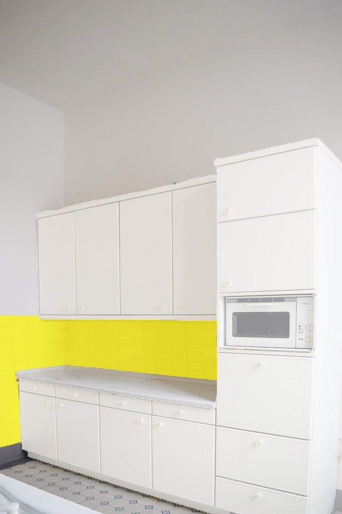 Kitchen Makeover - Option 3 - White