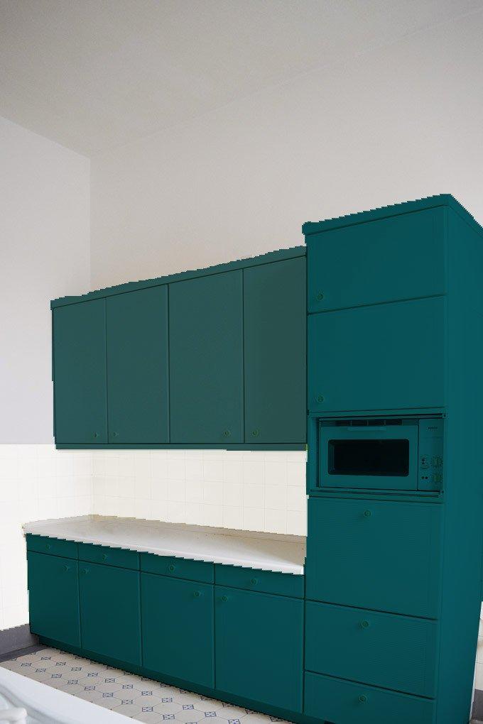 Kitchen Makeover - Option 5 - Green