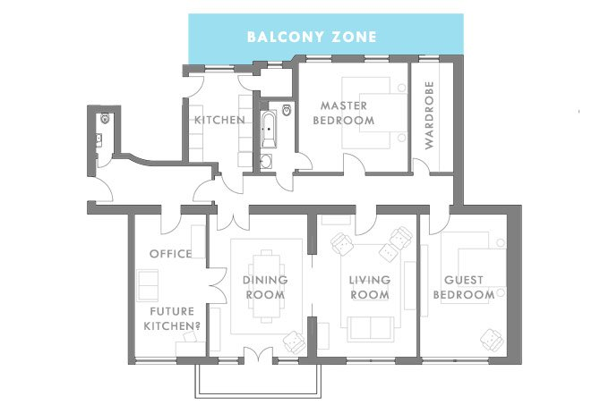 Balcony Zone | Little House On The Corner
