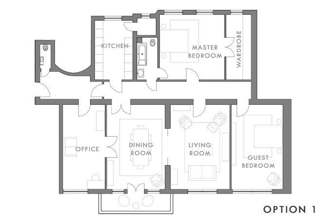 Option 1 | Little House On The Corner