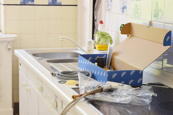 Installing A Kitchen Tap