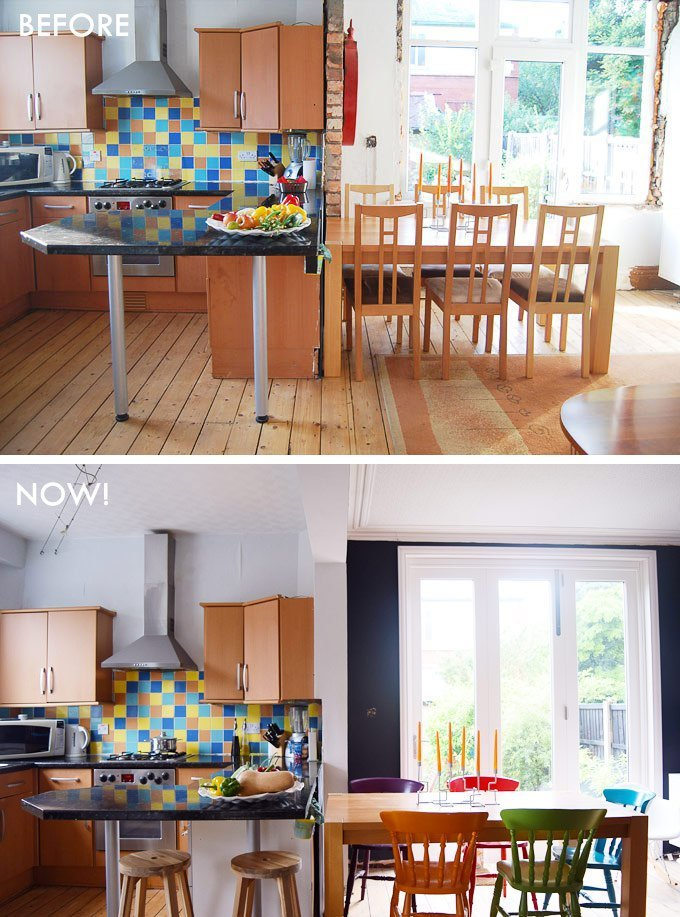 Kitchen-Dining-Before and Now