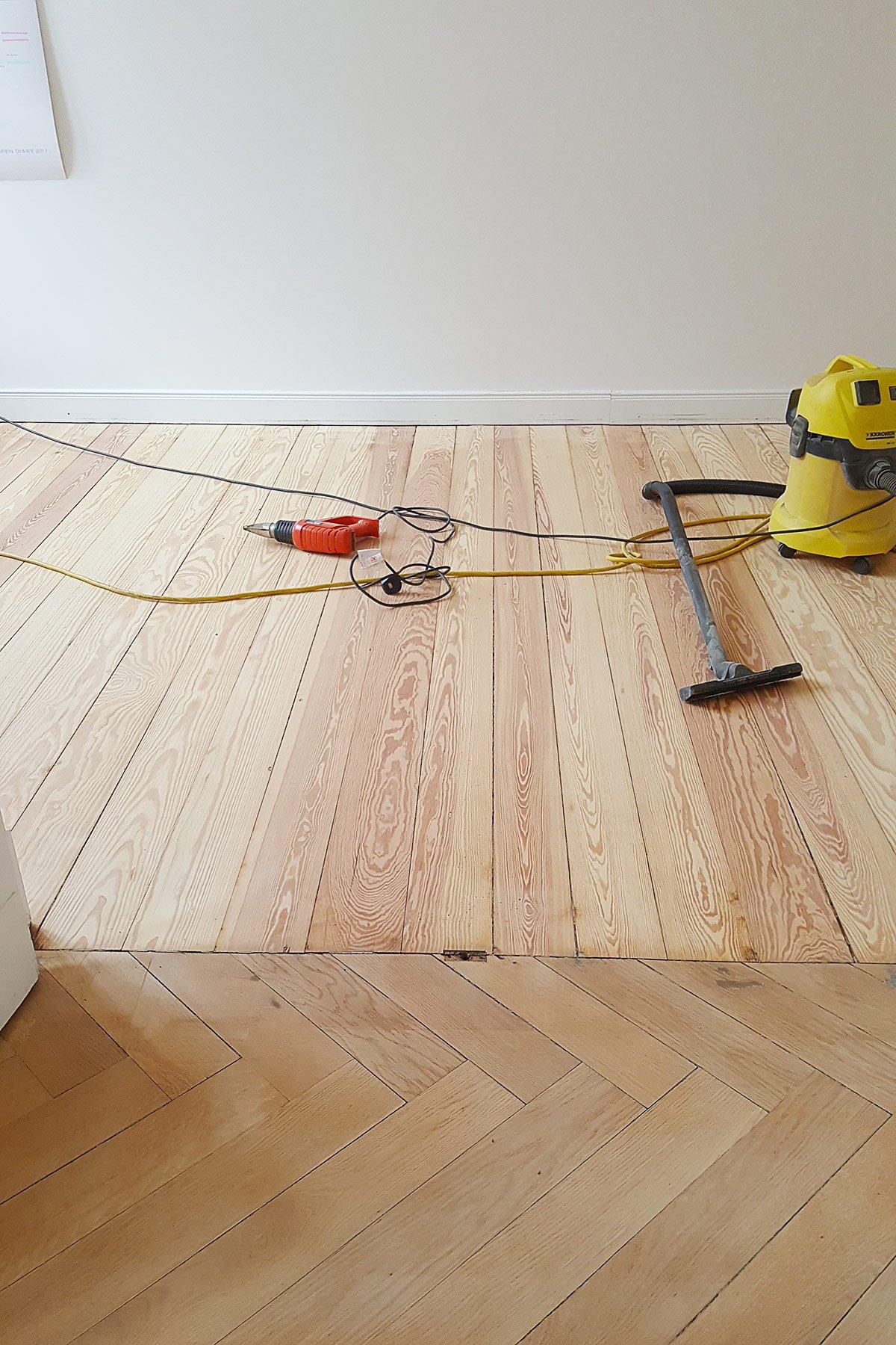 Floorsanding In Progress
