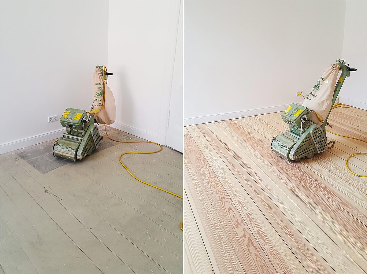 Floorsanding Before & After