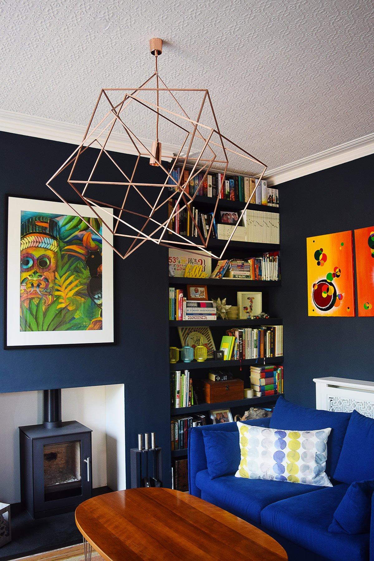 Log Burner & Dark Walls | Little House On The Corner