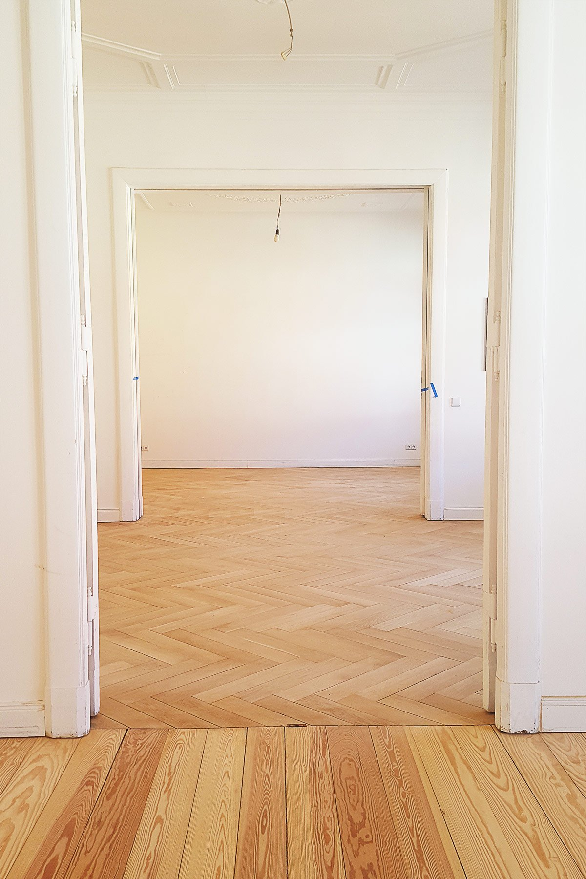 Sanding Floors | Little House On The Corner
