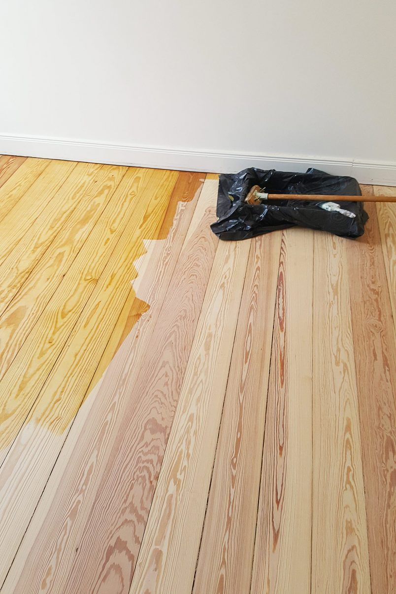 Oiling Floorboards | Little House On The Corner