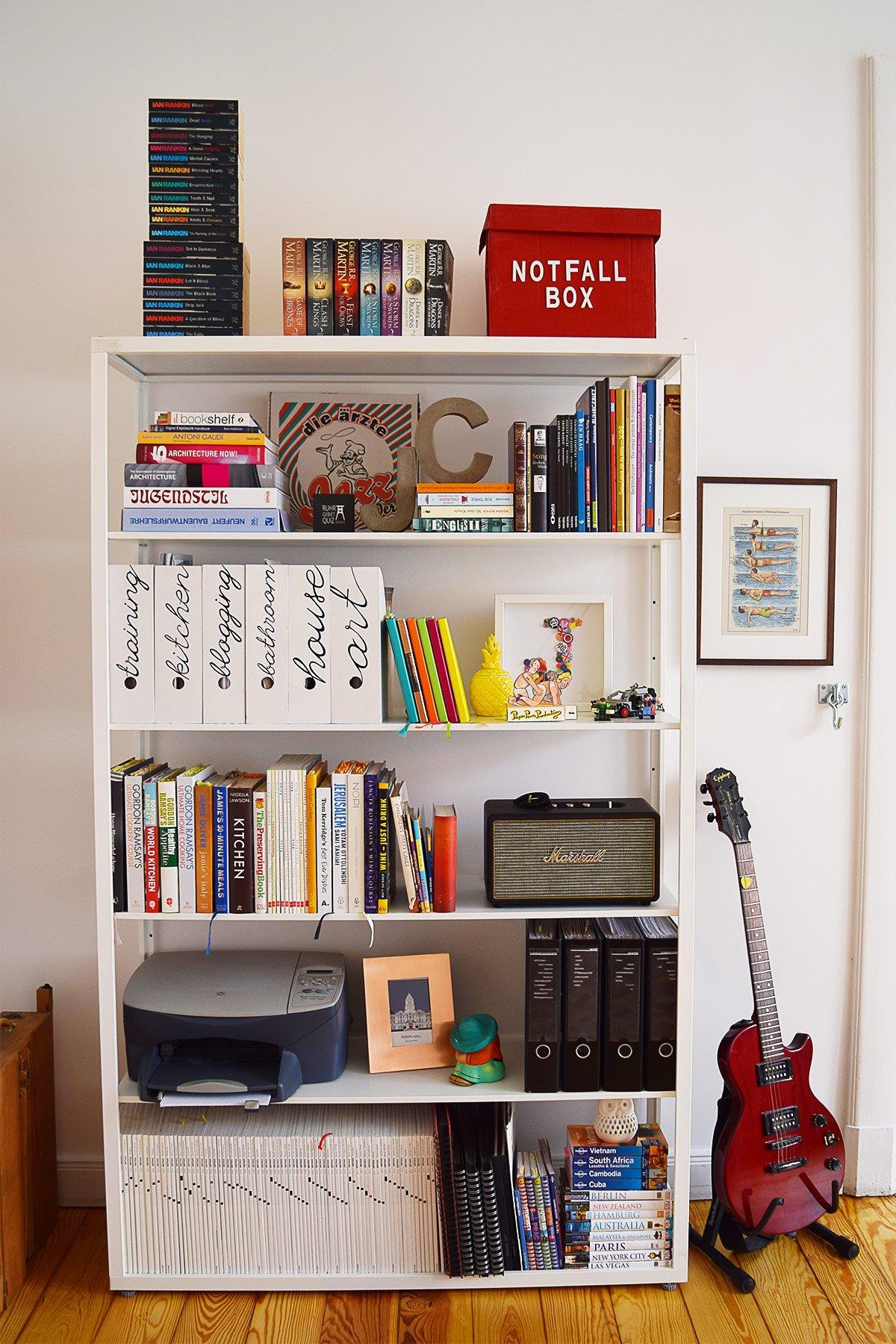 Office Shelves   Little House On The Corner