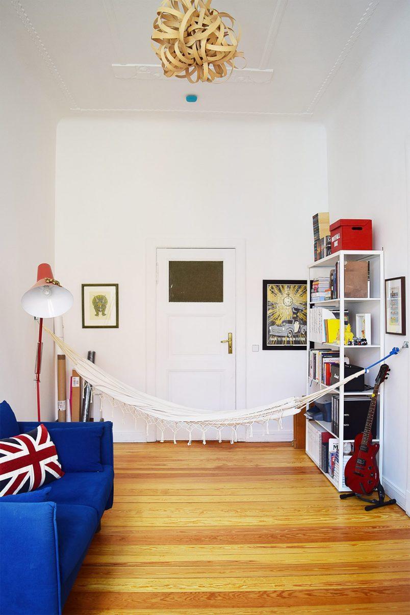 Hammock in Office   Little House On The Corner