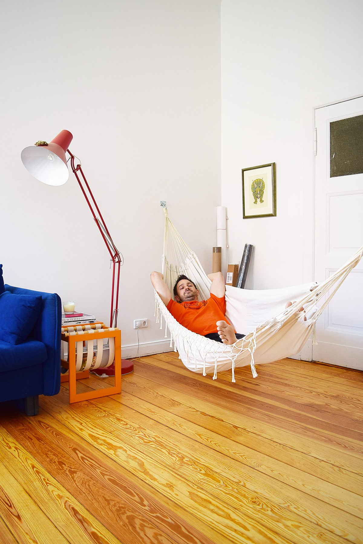 Hammock in Office | Little House On The Corner